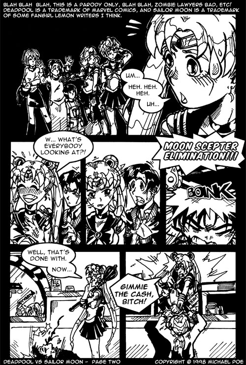 Deadpool vs Sailor Moon – Page 2